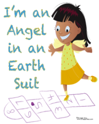 'Smile, I'm an Angel in an Earth Suit' T-Shirt Campaign!